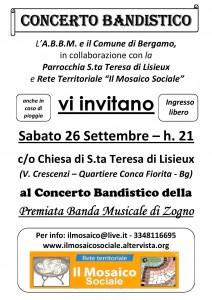 Locandina IlMosaicoSociale_ABBM_PremiataBandaMusicaleZogno - 26092015
